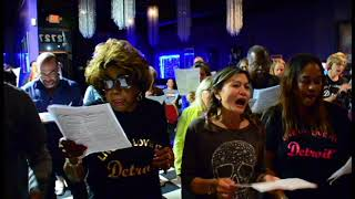 Recorded on October 17, 2017, Detroit Sings! invites all voices , a...