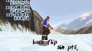 Steep Slope Sliders SEGA Saturn (GamePlay)