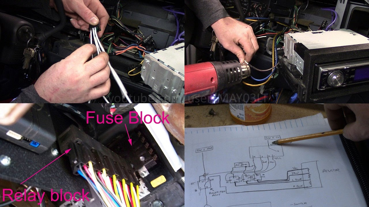 Alternative Fix For 96 98 C K Series Pickup Melted Blower Switch 2 Jeep Cj Heater Wiring Years Strong