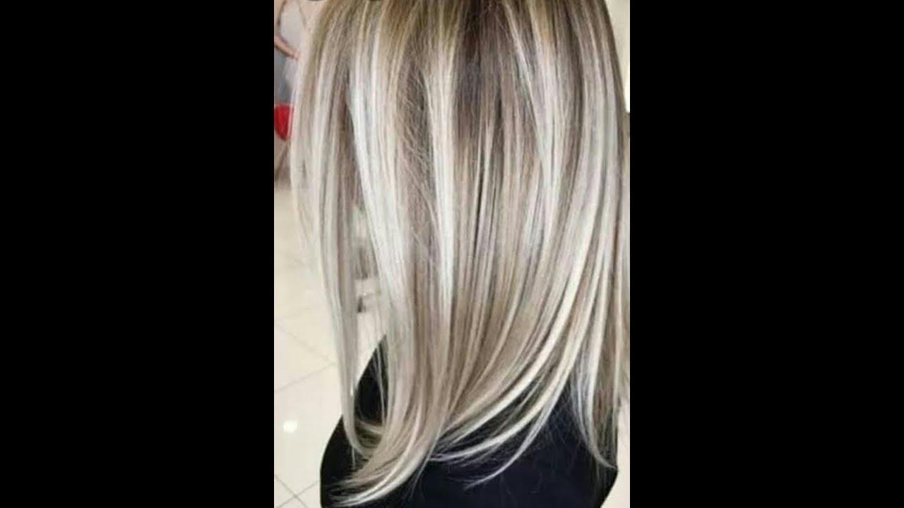 طريقة صبغ الشعر بلون جديد بلاتينى لؤلؤى لعيد2020شرح تفاصيلوه خطوه بخطوه Youtube
