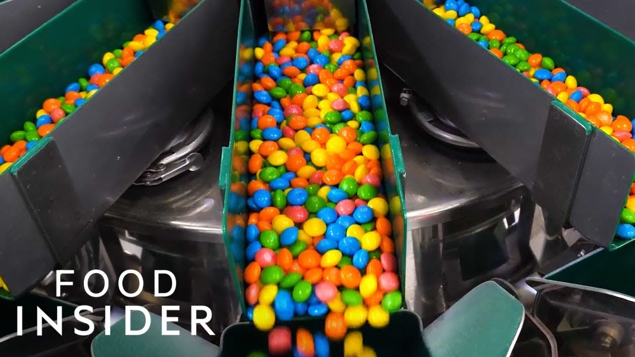 d385b657744 How Skittles Are Made - YouTube