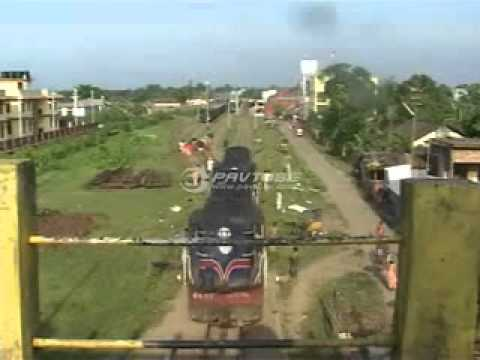 News Story of delayed broad gauge project of Silchar- Lumding rail line