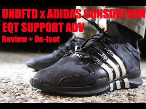 best sneakers 0e1f8 ed15f UNDFTD x Adidas Consortium EQT ADV Review + On Foot!