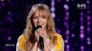 "Daryna Voronchuk – ""Seychas"" – Blind Audition – The Voice of Ukraine – season 9"