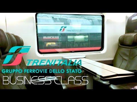 Trenitalia Frecciarossa Business Class Milan to Florence (Round Trip)