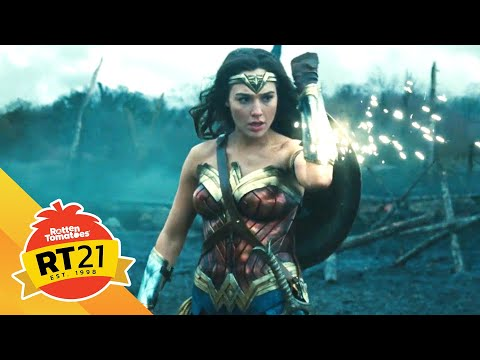 Wonder Woman in No Man's Land | Rotten Tomatoes' 21 Most Memorable Moments