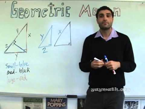 Geometry - Geometric Mean