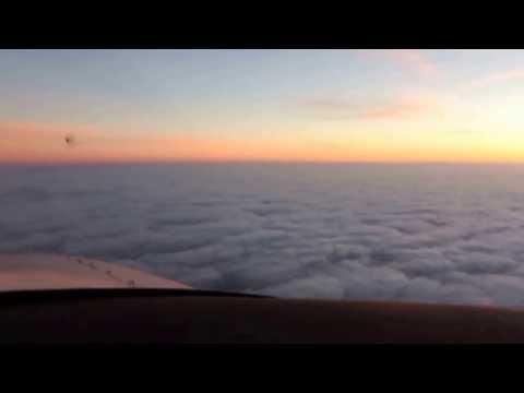 Oben Oğultarhan cessna 182 ferry flight from reykjavik to wick over ocean