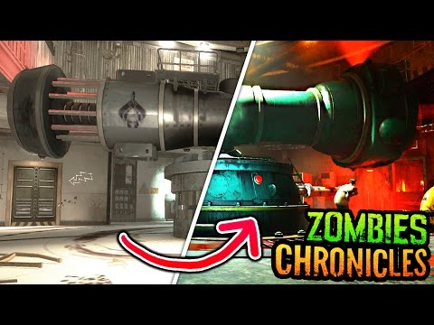 BO3 ZOMBIES CHRONICLES ASCENSION GAMEPLAY COMPARISON MONTAGE (BO3 Zombies Chronicles Ascension)