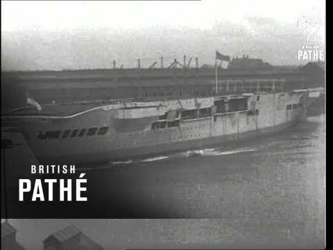 HMS Victoria Launched A.K.A HMS Victorious (1941)