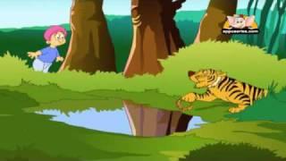 Hithopadesha  in Hindi - Tiger and the Gold Bangle
