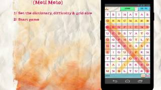 QwaD: 5 Word Search & Word Puzzle Games (Hangman, Meli Melo, Motus, Boggle, Flo)