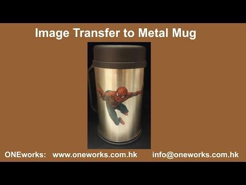 DIY Transfer Image to Metal Surface III