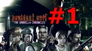 Resident Evil The Umbrella Chronicle HD PS3 En español Parte 1