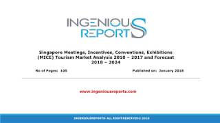 Global Market Forecast for MICE Revenue to Singapore 2018 – 2024 | Tourism Initiatives