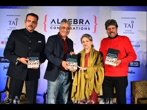 Ravi Shastri, Rajdeep Sardesai, Sharmila Tagore & Kapil Dev @Algebra