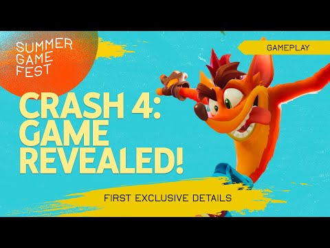 Crash 4 - First Gameplay and Interview!
