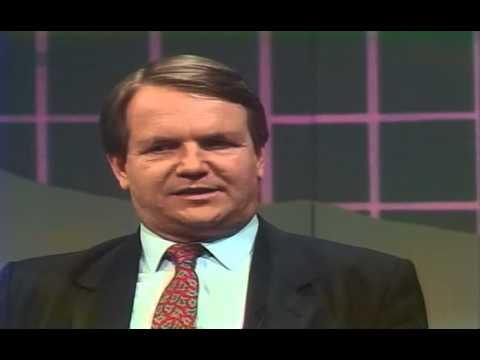 Günther Jauch im Gespräch mit Prediger Reinhard Bonnke 1988