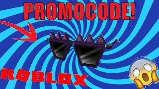[PROMO CODE] HOW TO GET THE SPIKY CREEPY SHADES IN ROBLOX 2019!