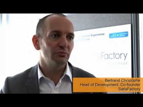Bertrand Christophe, Head of Development & Co-Founder, SatisFactory - Networking opportunities