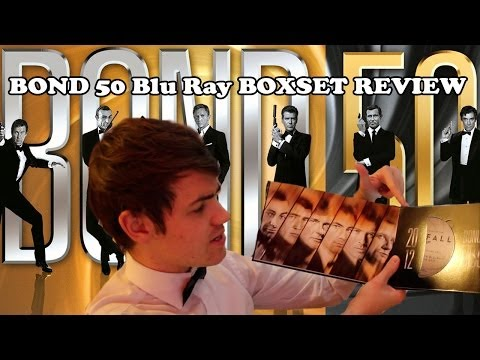 Bond 50 Blu Ray Unboxing & Review