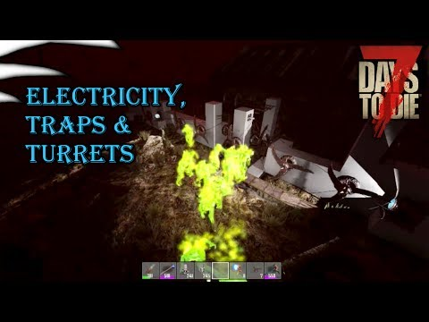 7 Days To Die Electricity tutorial ALPHA 16 | Adreden Scientific