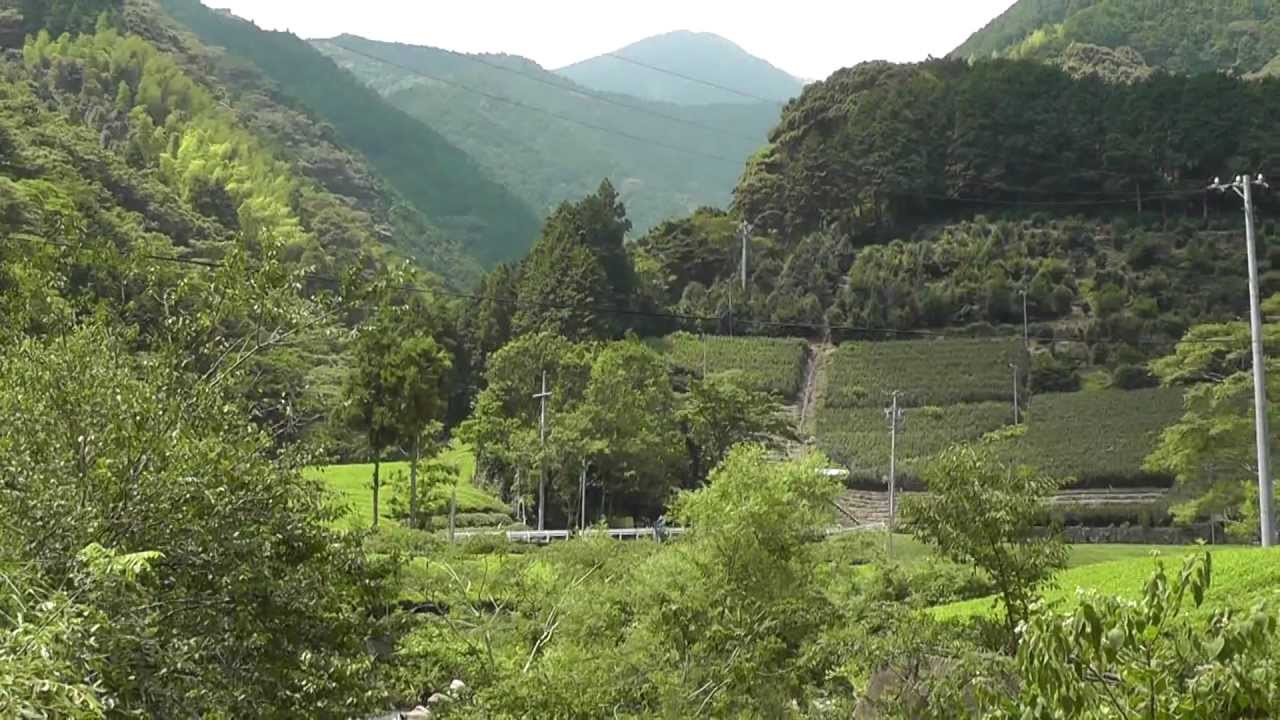 Walking Through A Japanese Mountain Village