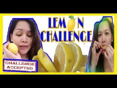 LEMON CHALLENGE /NO FACIAL REACTION/PASSED☑️orFAILED❎/Lhorsef 🙋♀️