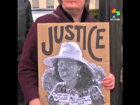 Activists Across the Americas Demand Justice for Berta Caceres