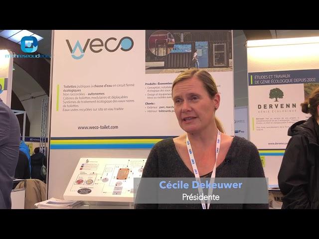 WeCo - Interview de Cécile Dekeuwer - Mon Réseau d'Eau