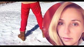 Навка выложила новое фото Пескова в красных штанах