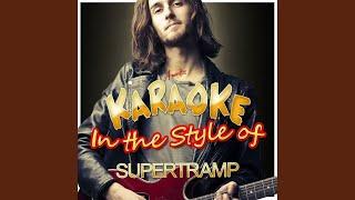 Babaji (In the Style of Supertramp) (Karaoke Version)