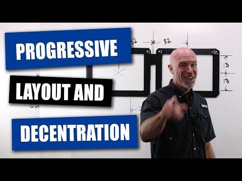 Progressive Lens Layout And Decentration