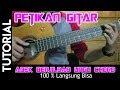 TUTORIAL Gitar Adek Berjilbab UNGU