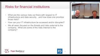 Is Your Financial Institution the Next Target of a Cyber Attack