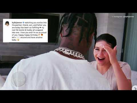 Kylie Jenner buys Lamborghini for Travis Scott | Daily Celebrity News | Splash TV