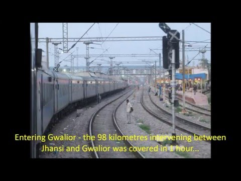 Highlights from India's Fastest Train: Bhopal Shatabdi Expre