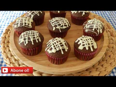 Hindistan Cevizli Muffin-Coconut filled Muffins