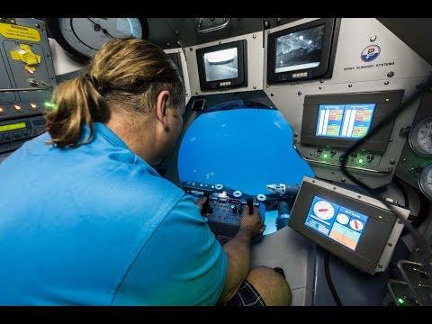 Diving aboard NSRS Submarine Remoted Vehicule 360 - VR