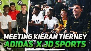 Meeting Kieran Tierney! | Adidas x JD Sports Vlog (Bhav)