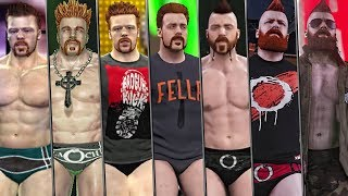 The Evolution Of Sheamus Entrances in WWE Games ( Smackdown vs RAW 2011 To WWE 2K19 )