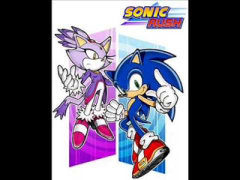 Sonic Rush: Leaf Storm (Blaze) Right there Ride On!