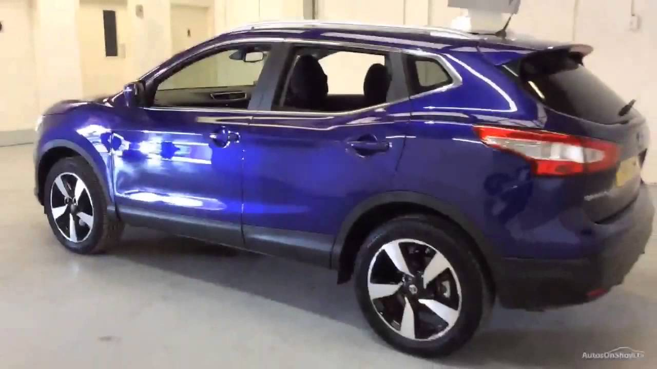 nissan qashqai n tec plus dig t blue 2015 youtube. Black Bedroom Furniture Sets. Home Design Ideas
