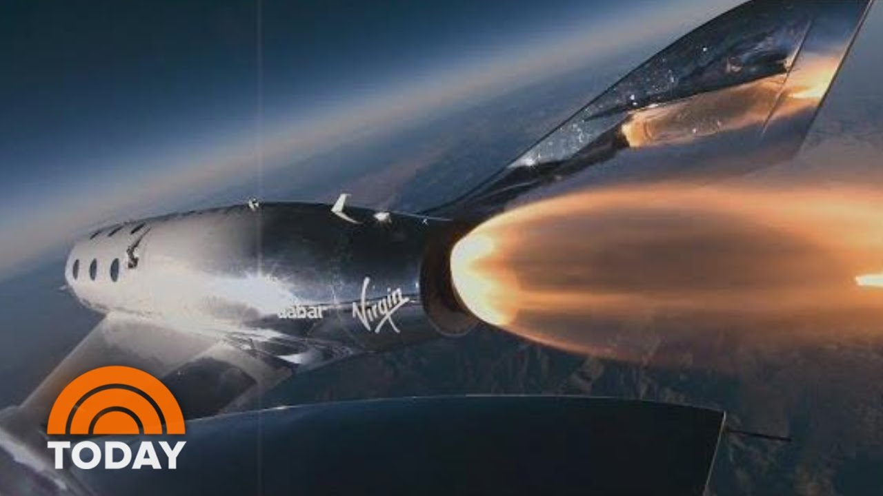 Virgin Galactic Test Flight Reaches The Edge Of Space | TODAY