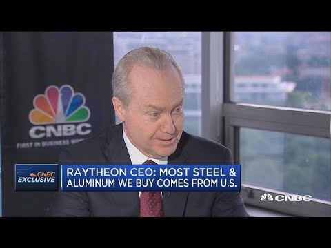 Raytheon CEO: Trump effect is real for defense spending