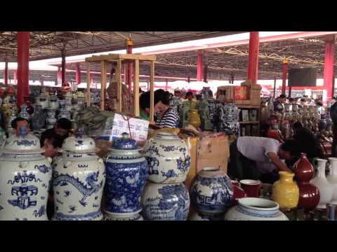Chinese Fake Antique Market, Porcelain Reproduction Market 仿古瓷 中国古董 古瓷辩伪
