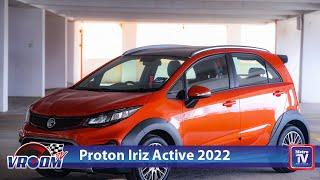 Proton Iriz Active 2022, gaya ranggi ala crossover