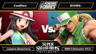 RSH Ultimate #53: Cadilax (Pokemon Trainer) vs DAMN. (Terry) - Losers Quarters