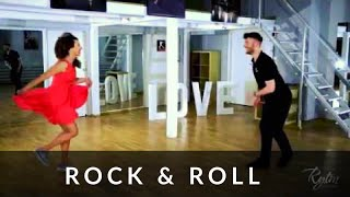 Rock and Roll - Podstawy - Studio Tańca Rytm I Rock and Roll tutorial