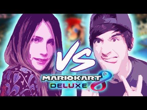 LUZU VS LANA en MarioKart de Nintendo Switch!
